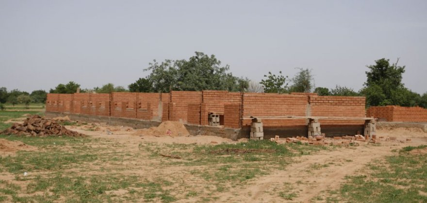 School and educational centre in Pobe Mengao, Burkina Faso, Africa