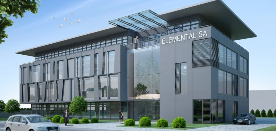Headquarters of ELEMENTAL SA Company at 42 Traugutta Street in Grodzisk Mazowiecki